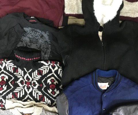 men's used sweaters
